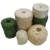 Heavy Duty Natural2 mm  3 mm Green Brown  Twisted jute yarn  twine rope tomato plant twine ball spool