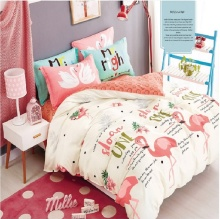 100 cotton Flamingo Bedding <strong>Set</strong> Duvet Cover <strong>Set</strong>