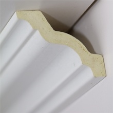 white PU cornice <strong>mould</strong> for ceiling and wall decoration