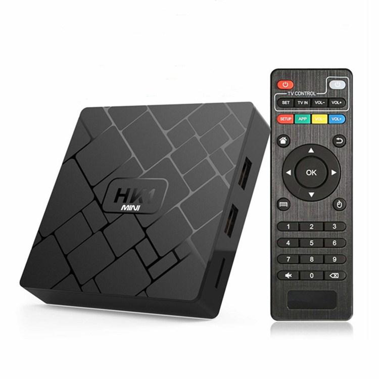 Free Shipping Cheapest Model Best Seller HK1 <strong>MINI</strong> RK3229 Android TV Box 2GB/16GB Android 9.0 Set Top Box 2.4G WiFi Streaming Box
