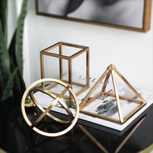 Living room desktop decor antique home geometric decoration items