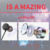 Wired Headphones Sound Isolating In-Ear Headphones Earphones with Microphone and Remote for Mobile Phone
