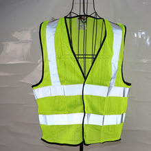 Reflective Gray Hi-Viz Vest For Bikers <strong>Safety</strong>