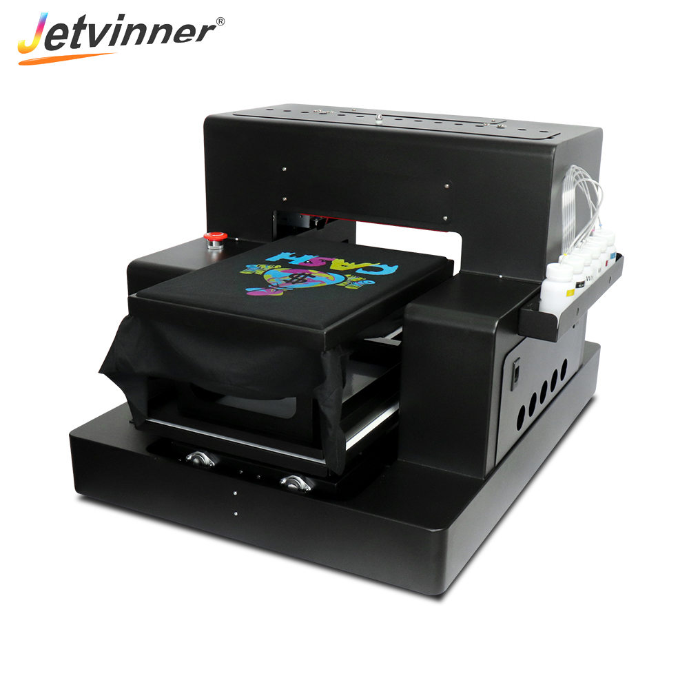 Factory price A3 size textile printer for dark shirt <strong>jeans</strong> and canvas bag cloth etc