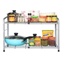 over the sink 2 Tier expandable dish rack storage organizer holder kitchen <strong>shelf</strong>