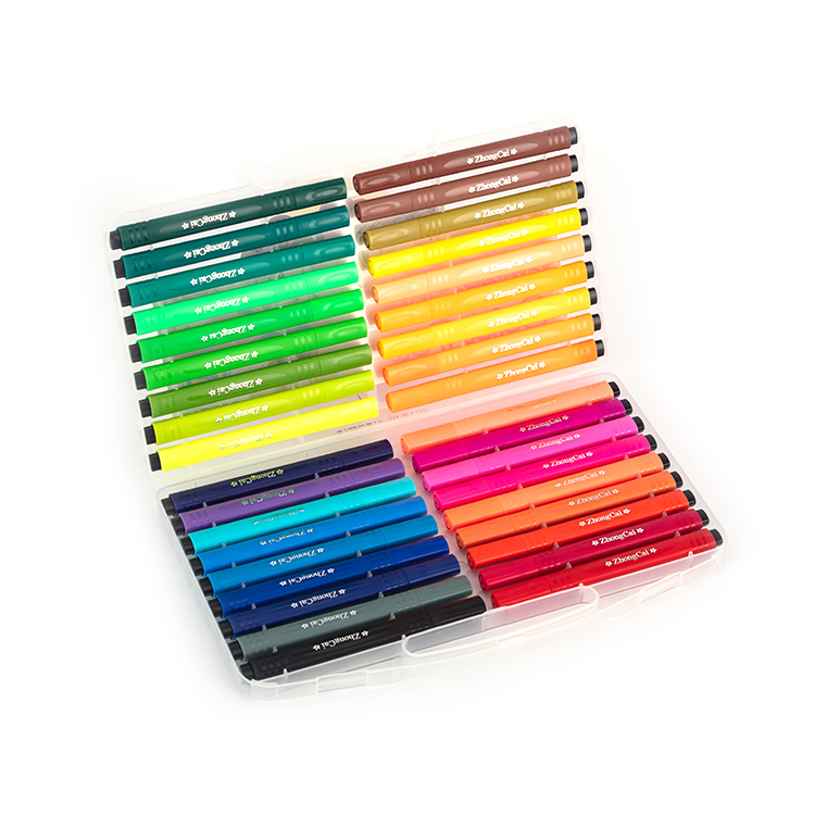 Comfortable Triangle Shape <strong>Color</strong> Markers with 36 <strong>colors</strong> Available