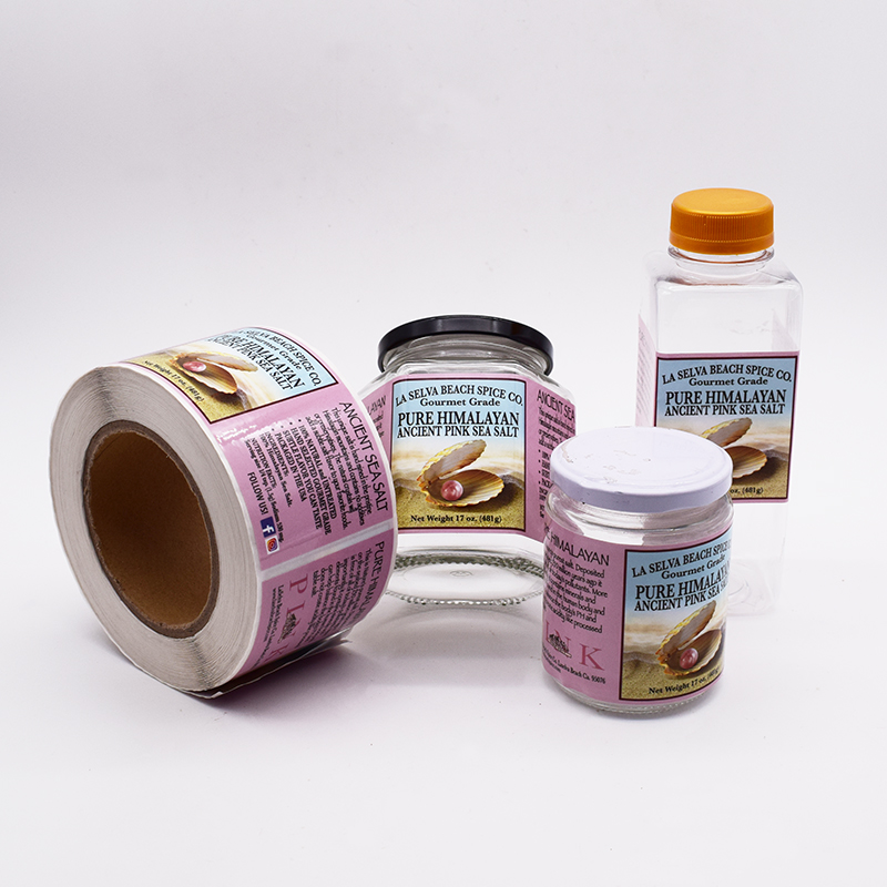 Adhesive High Quality Glass Plastic Bottle Sticker,Custom Packaging Bottle Label Printing