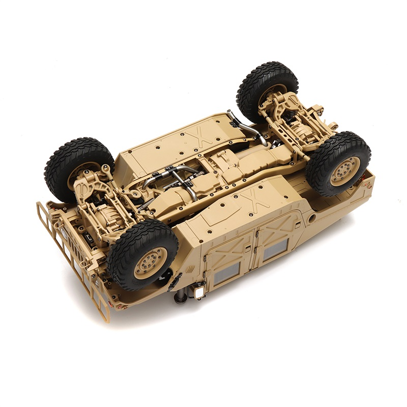 1/10 2.4G 4WD 16CH 30km/h Rc Model Car U.S.4X4 Military Vehicle Truck HG P408  without Battery Charger