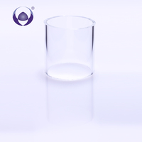 Factory Directly Provide best price colored borosilicate solid glass tube suppliers COE 3.3