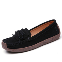 New design low heel female <strong>flat</strong> tassels casual shoes soft fashion high quality leather suede woman sneakers