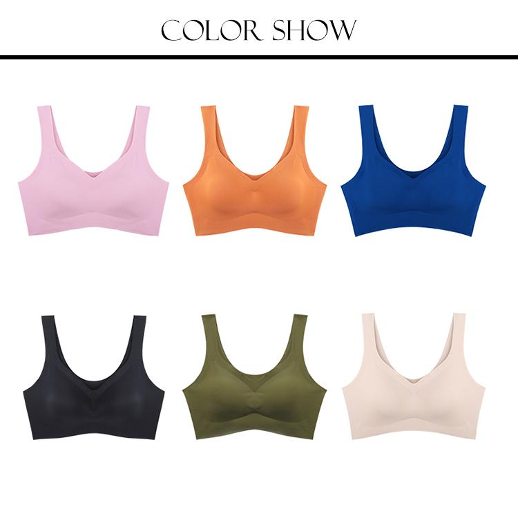 Private label wholesale plus size high impact custom sexy seamless ladies yoga womens sports bra