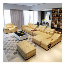 modern <strong>furniture</strong> multifunctional massager leather living room sofas