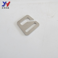 High quality china factory manufacture customized train seat belt metal strap buckle according to your demand