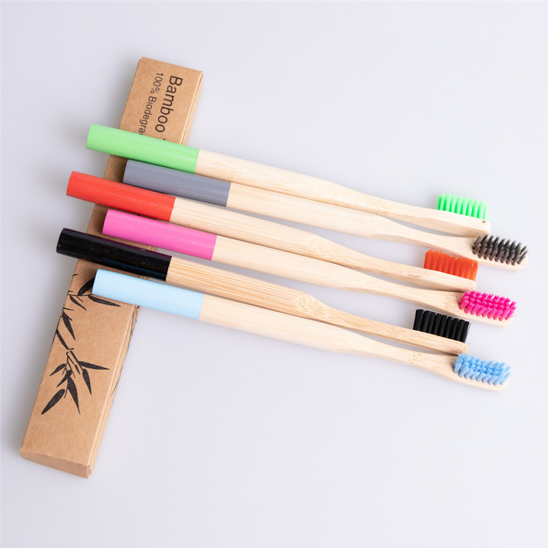 Wholesale Biodegradable Eco Friendly Children <strong>Bamboo</strong> Toothbrush For Kids