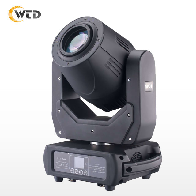 Stage Lighting 3 IN 1 150W Zoom <strong>Beam</strong> Spot Moving Head Light 7 Colors + White Gobo Effect Night Club Dj Equipment