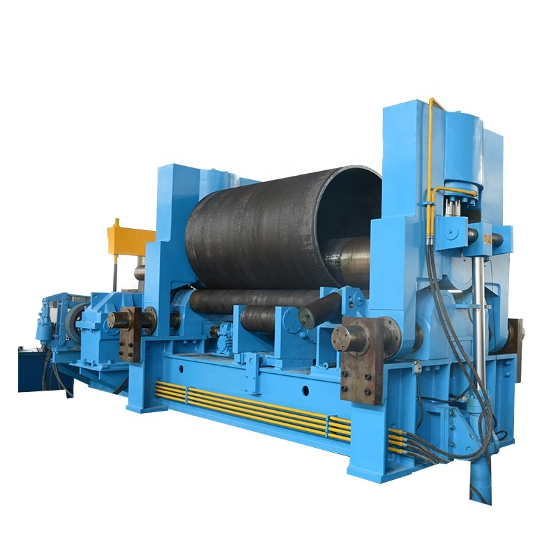 <strong>W11S</strong> 3 <strong>Roller</strong> Hydraulic Steel Plate Rolling Machine custoomizable Pre-Bending Plate Universal Rolling bending