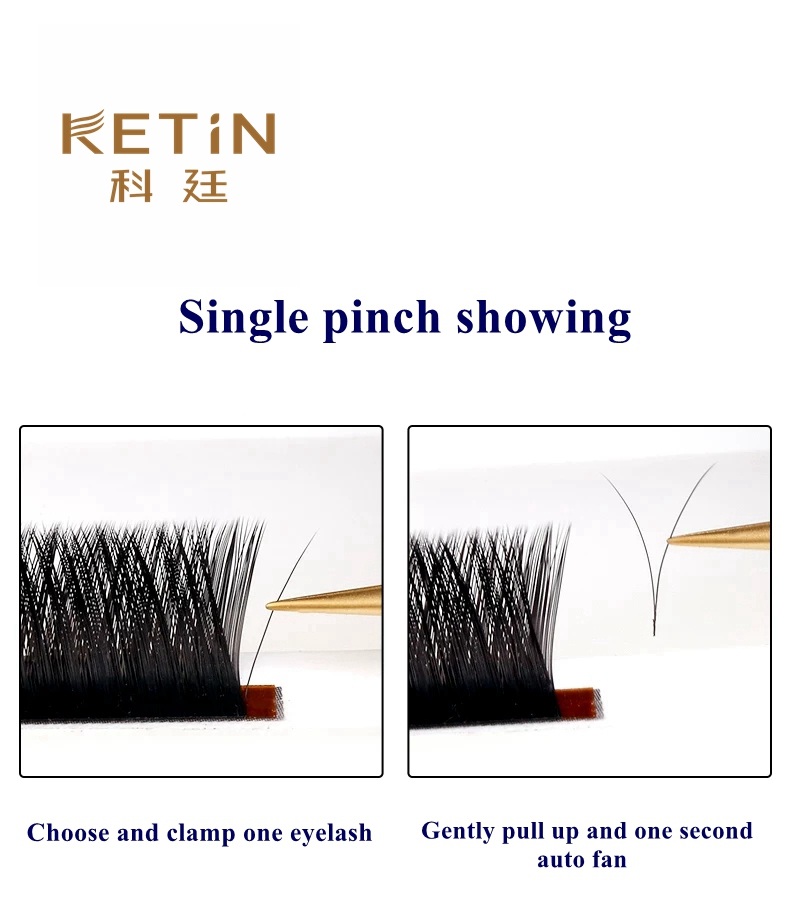 individual classic eyelashes extensions private label lash extensions Private label professional