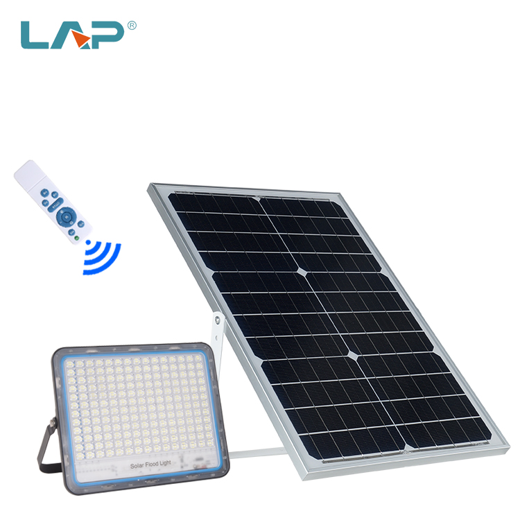 LAP Wireless Remote Control Outdoor IP65 Waterproof 40W 60W 100W 200W 300W LED Solar Flood <strong>Light</strong>