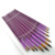 12 pcs Multi-Function Paint Brush Set with Gold Nylon Hair and Purple Aluminium Ferrule For Beginners & Fine Art Painters