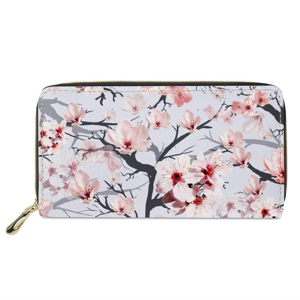 Quality ladies custom outdoor portable stylish card purse wallet bag