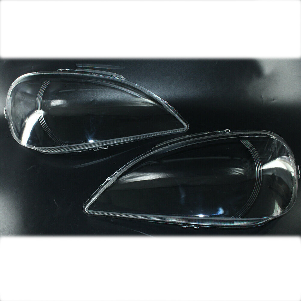 Headlight Headlamp Lens Cover RIGHT and LEFT For Mercedes Benz <strong>W163</strong> ML Class
