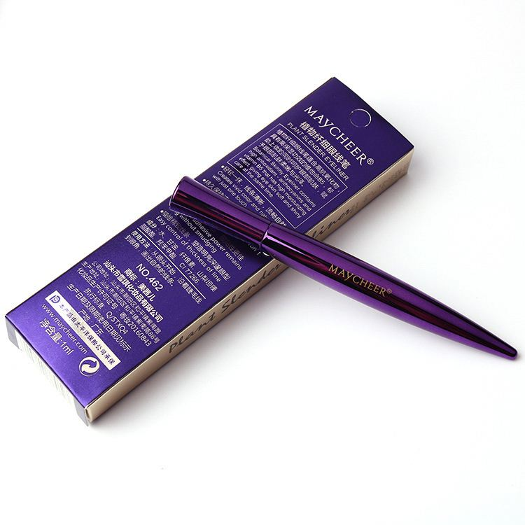 Contains Large <strong>Eyes</strong> Waterproof And Soft Head Eyeliner Liquid Sweat Resistant