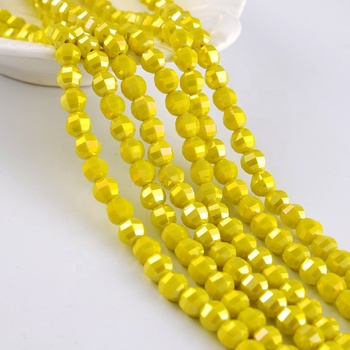 China Factory Glass Bads Crystal Beads Loose  Rondelle Beads
