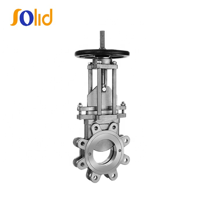Industrial SS304 Stainless Steel Knife Gate Valve