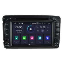 NEWNAVI 7'' touch screen Car DVD Player Android 9.0 built in GPS Car Video for MERCEDES-BENZ C-CLASS W203/CLK W209/M <strong>W163</strong> W639