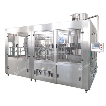 Fully-Automatic Glass Bottle Beer Filling system