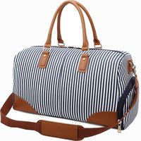 Women Weekend Overnight Duffle Bag Men Canvas Travel Tote Bags