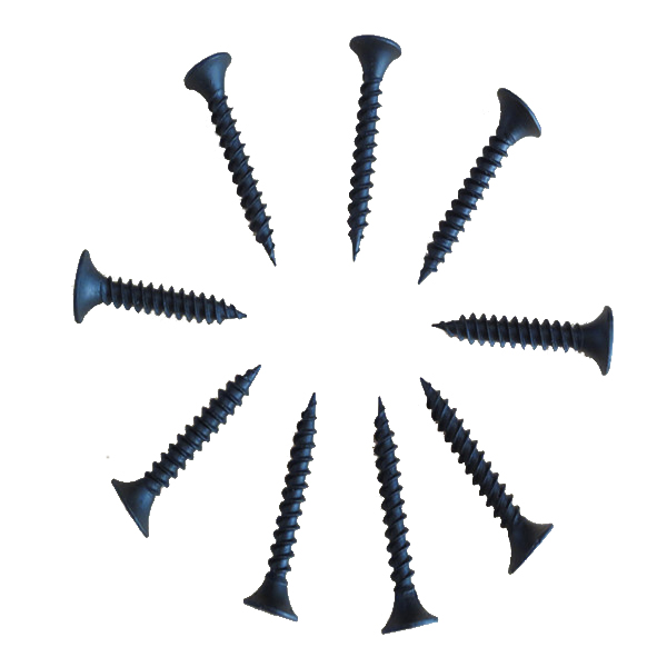 low price bugle head <strong>black</strong> <strong>phosphate</strong> drywall screw for metal
