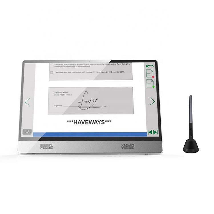 electromagnetic and capacitive dual touch Intel Core I3 I5 I7 all in one touch screen pc