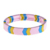 Candy color fashion fresh arrow Elastic silicon bracelet custom for accessories
