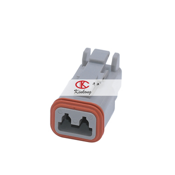 2 way DT series Deutsch sensor connector DT06-2S