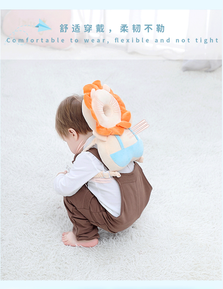 Baby Toddlers Head Protective, Adjustable Infant Safety Pads for Baby Walkers Protective Head