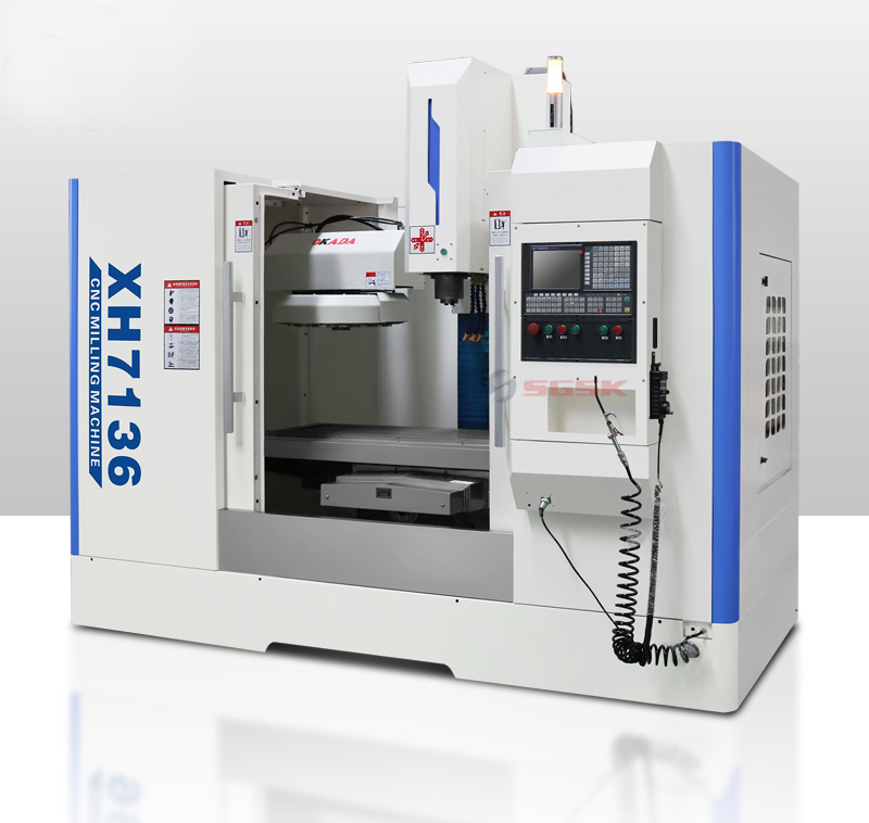 3 Axis cnc milling machine XH7136 small cnc milling machine for sale