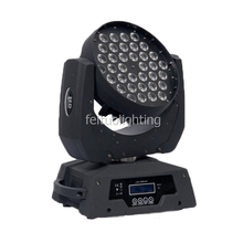 4 in1 fly case mixing color RGBW quad 36x10 <strong>w</strong> led moving head wash zoom dmx512 moving head stage dj light