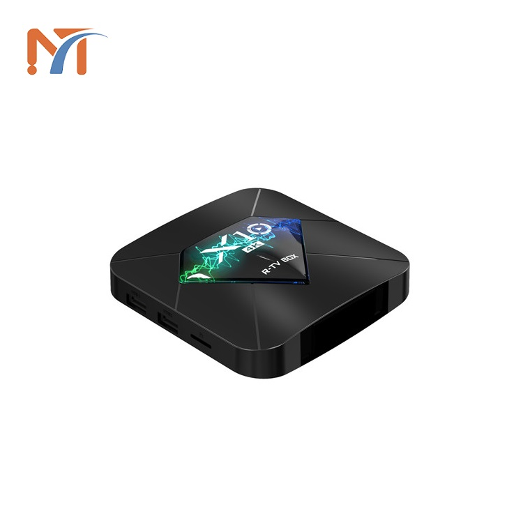 2019 Factory Direct Selling New 4k S905W quad Core Android 7.1 Network Player R-TV BOX <strong>X10</strong> 2G+16G Set Top Box