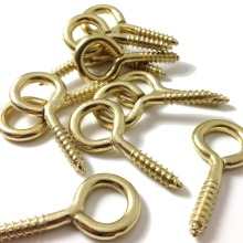 High quality Zinc Plated /nickel plated Hooks Shape <strong>Screw</strong> Hooks Self-tapping Eye <strong>Screws</strong>