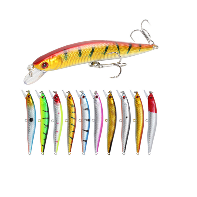 10cm 8.3g ABS hard minnow fishing lure artificial fishing bait