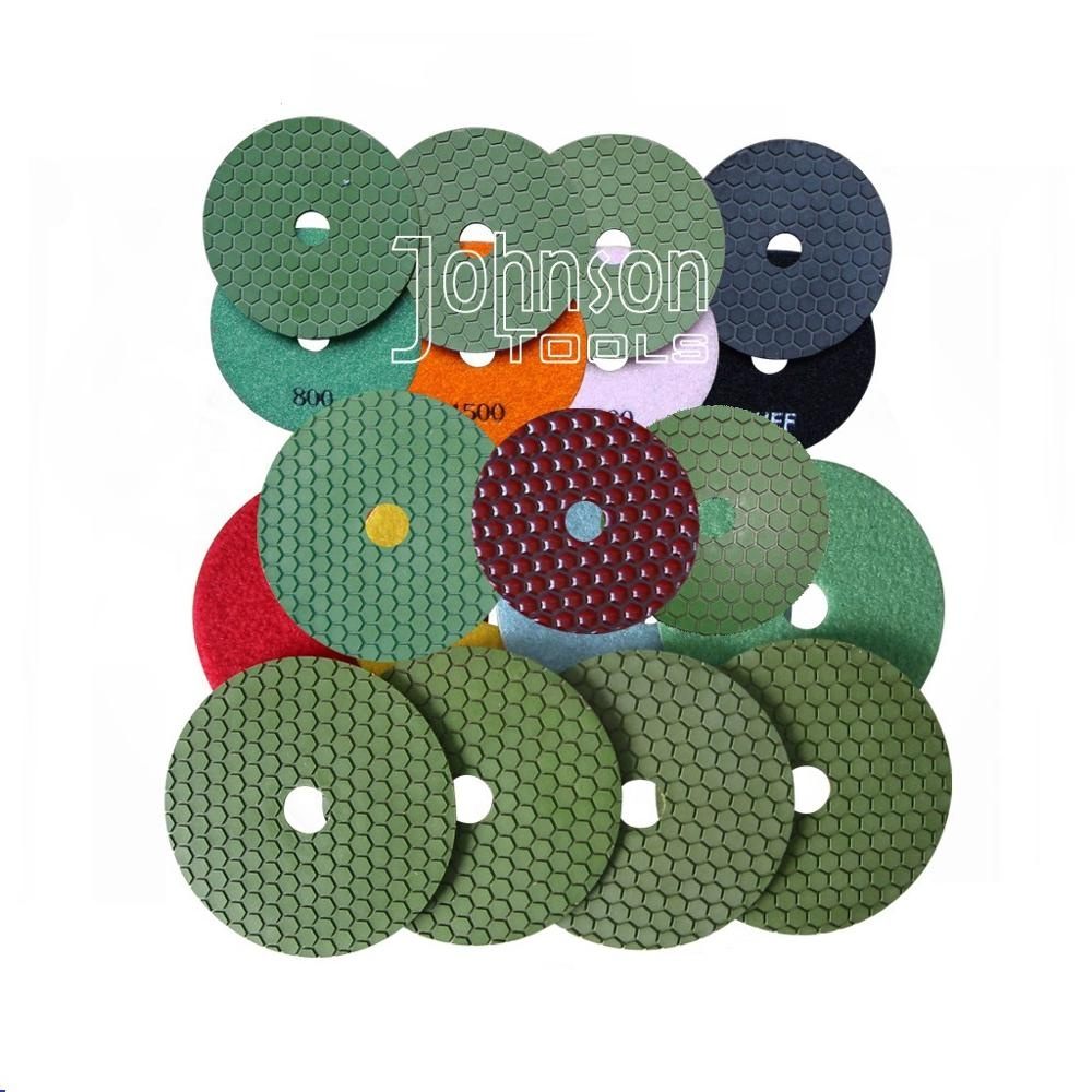 2019 Wholesales custom design Diamond Dry Flexible Hand Polishing Pad for Floor <strong>Tool</strong>