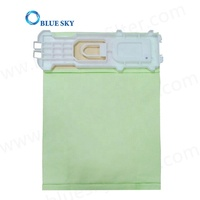 Customized Green Paper Dust Filter Bag Replacement for Vorwerk 135/136 Vacuum Cleaner
