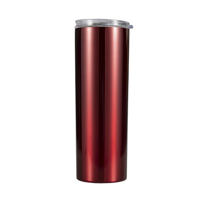 Vacuum Insulated Double Wall Stainless <strong>Steel</strong> 20oz Tumbler Skinny Travel Tumbler with Lid