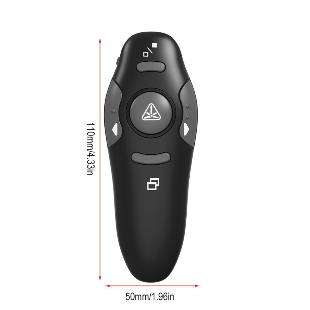 Custom logo print 2.4G PPT Presentation Laser Pointers Remote Control USB Wireless Presenter