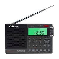 2019 new multi band shortwave radio receivers portable FM MW SW digital airband radio with clock and alarm