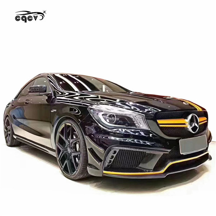 Good fitment WD style body kit for Mercedes Benz CLA200 <strong>W117</strong> front bumper rear bumper for Mercedes Benz cla class <strong>w117</strong>