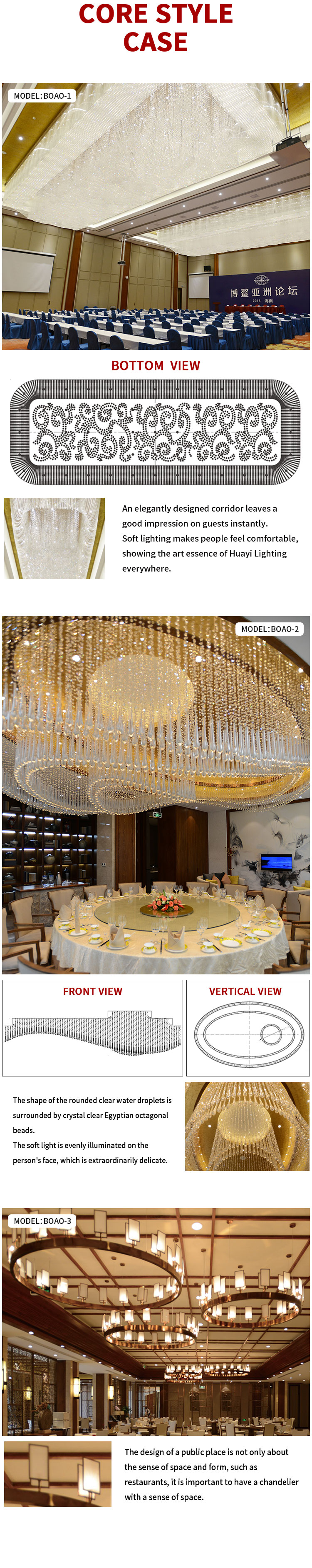 BOAO FORUM FOR ASIA DONGYU ISLAND HOTEL Capiz shell chandelier philippines crystal pendant ceiling light