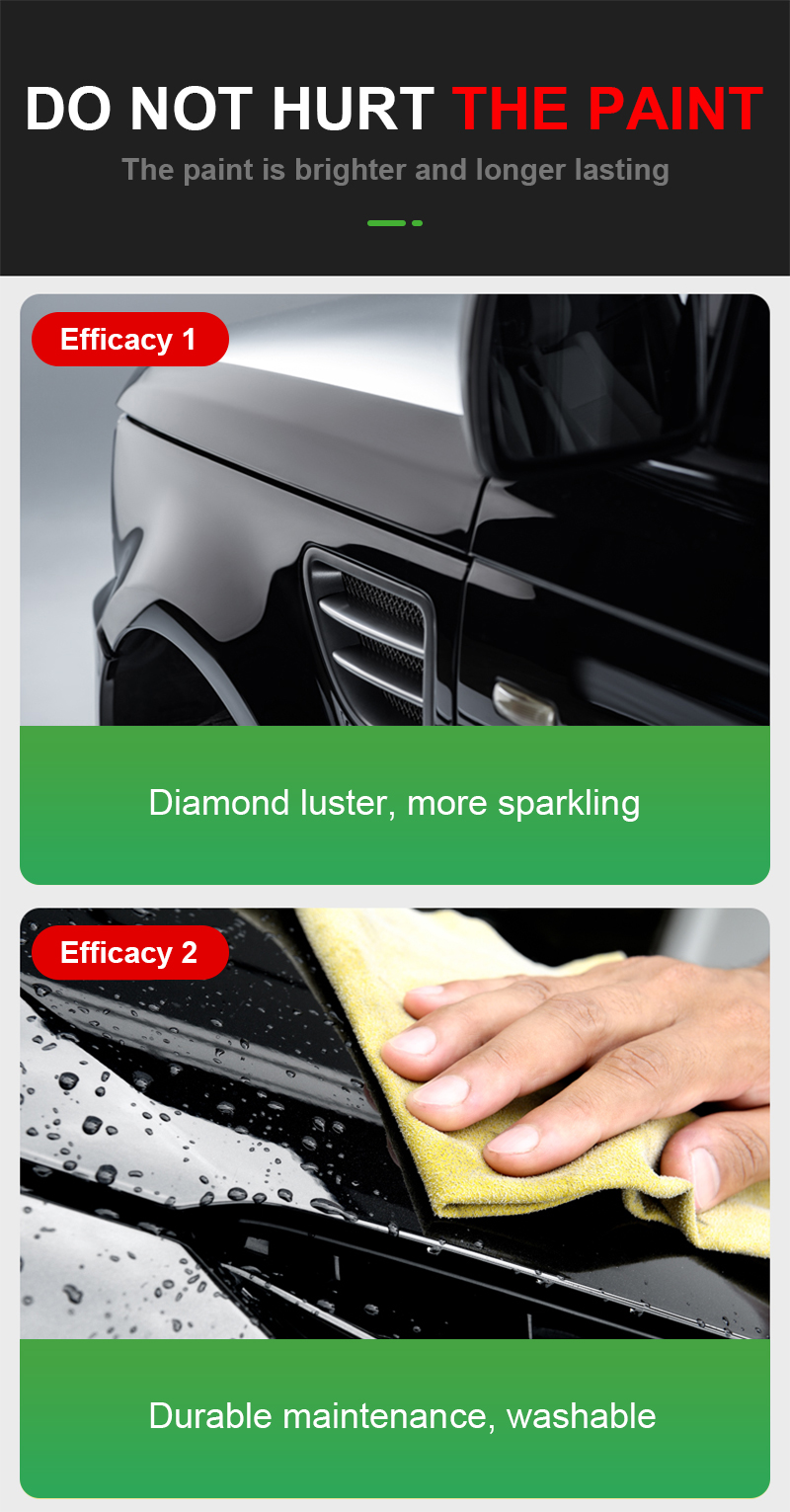 Factory Price Polish Crystal Car Wax Paint Protect Scratch Solid Carnauba Soft Silicone nano ceramic coating auto Wax