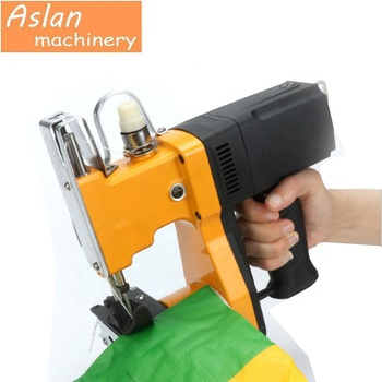 Handheld Woven Bag Sewing Machine/ Portable Small Sacks Bags Sewing Machine with Automatic Cutting/ Bag Sealing Machine